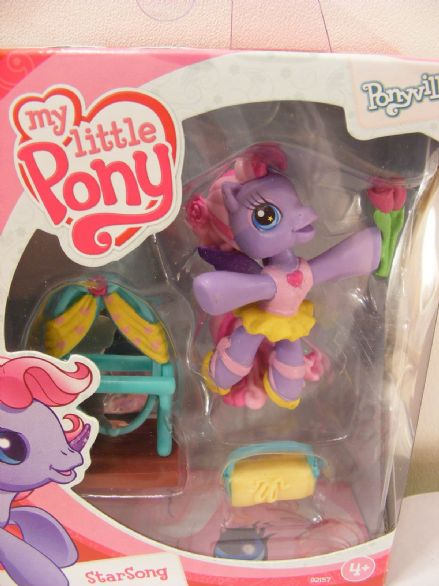 BNIB MY LITTLE PONY PONYVILLE STARSONG MLP PONY